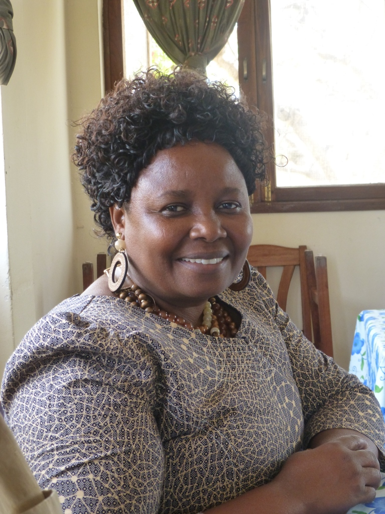 The Rev. Canon Hilda Kedmond Kabia, Principal of Msalato Theological College
