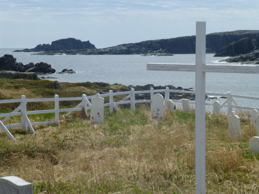 Graveyard in Little Brehat NL